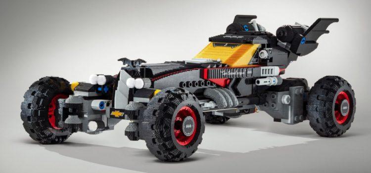 Holy Bricks! Chevy Builds Life-Sized Lego Batmobile.